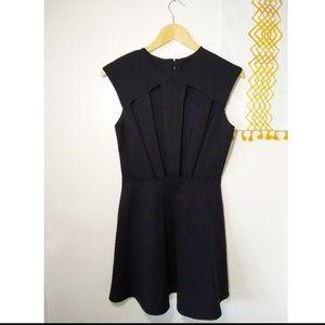 silence + noise Dresses - UO Silence + Noise | black LBD cutout skater dress